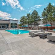 Axio 8400 Pool Entertainment Area