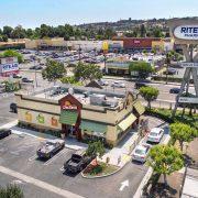 La Brea Retail Top View