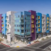 The Link Apartments Front Facade