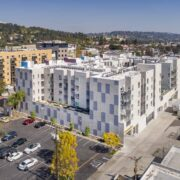 The Link Apartments Corner & Parking Lot
