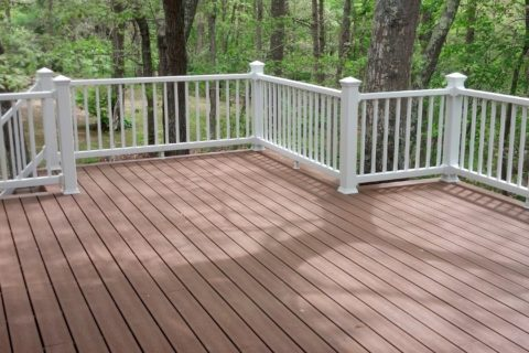 new deck contruction