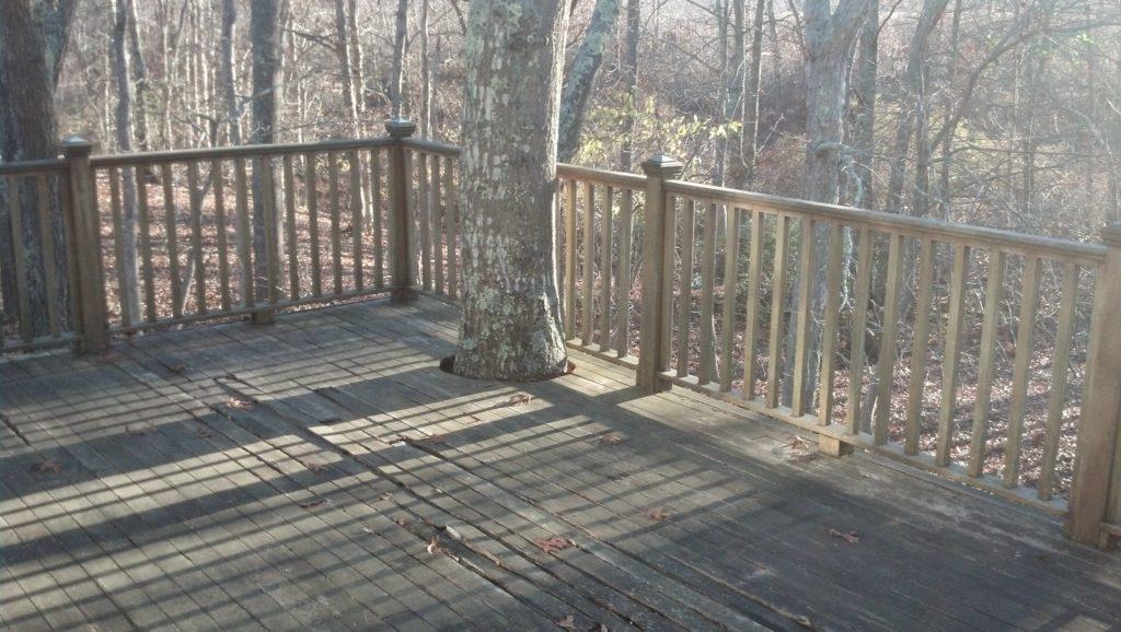new back deck installation