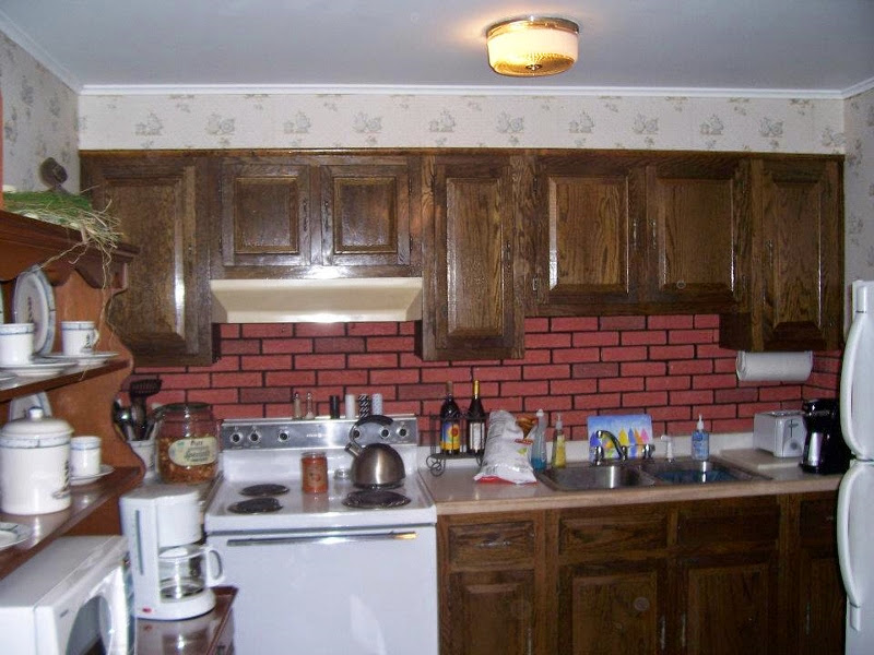 before kitchen makeover project