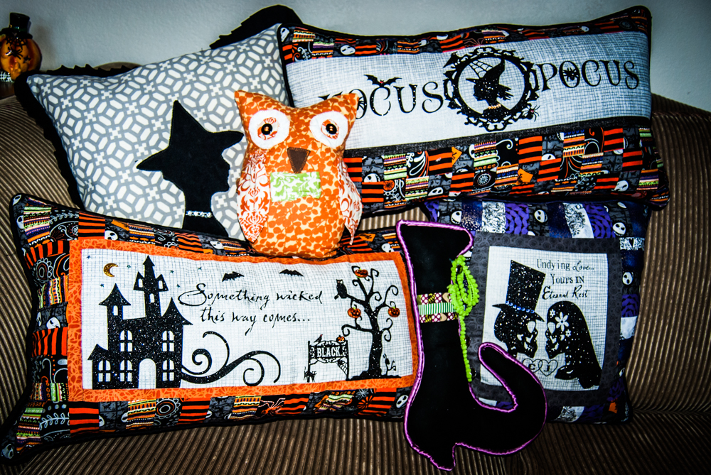 Assorted Halloween Pillows
