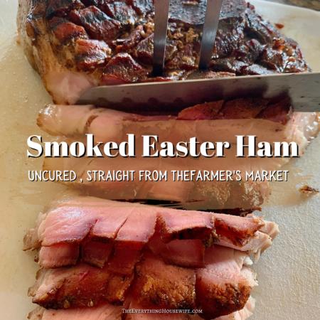 Uncured Easter Ham Recipe