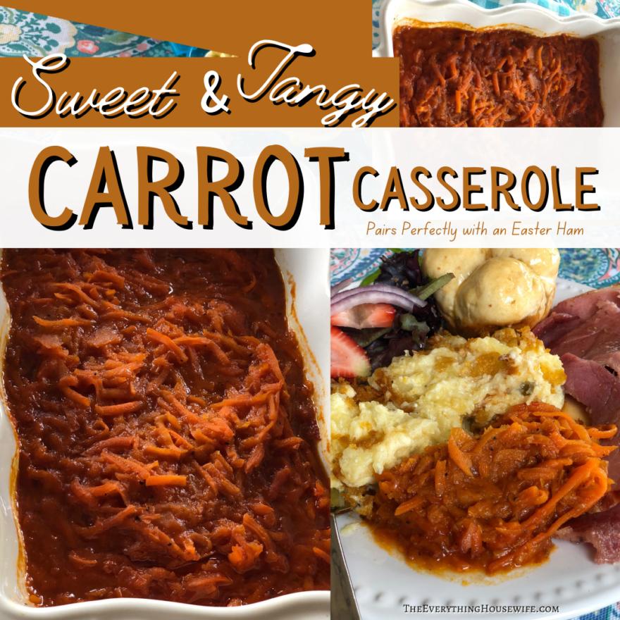 Carrot Casserole V* Recipe