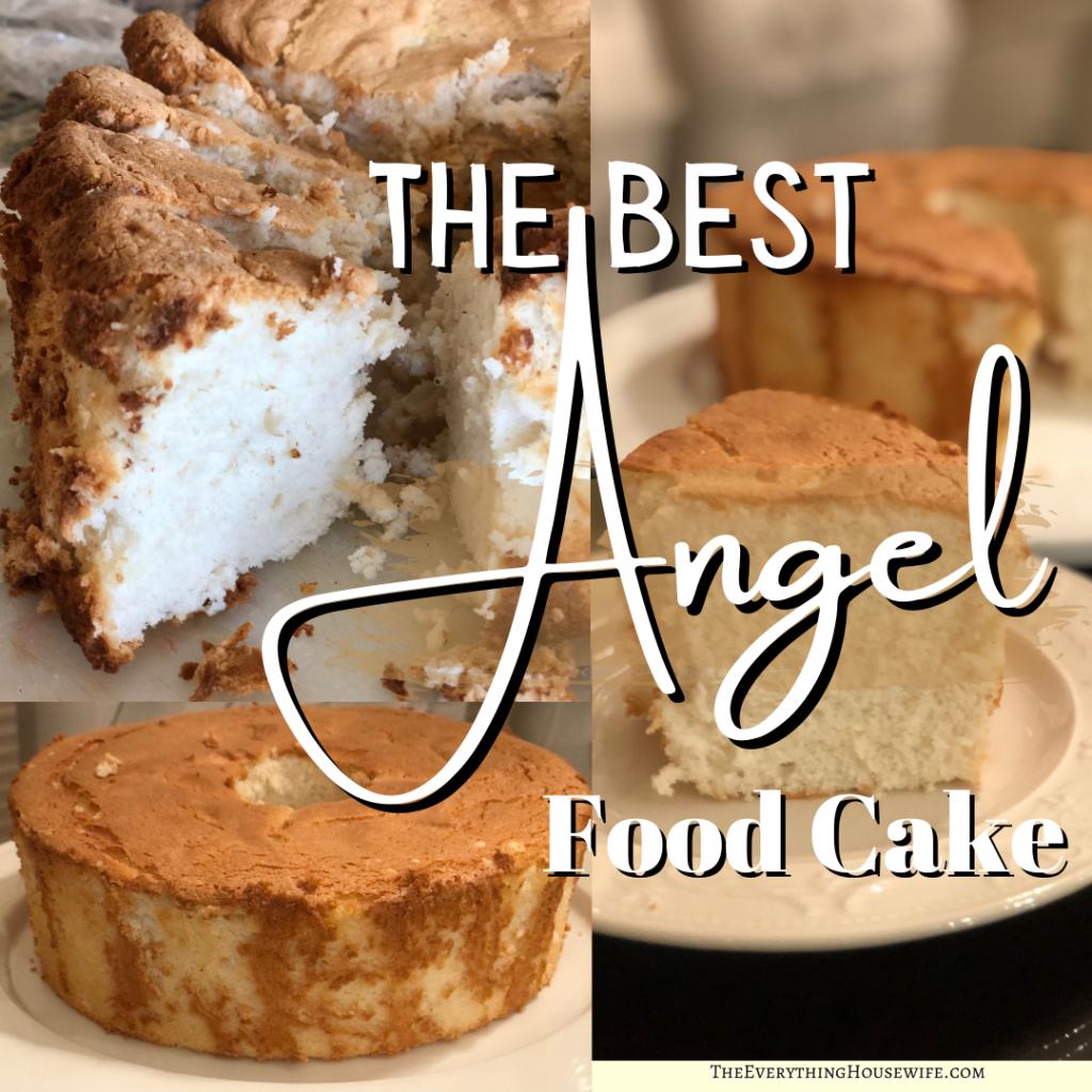 Angel food cake the best