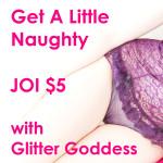 Get Naughy JOI Cover 150x150 Glitter Goddess