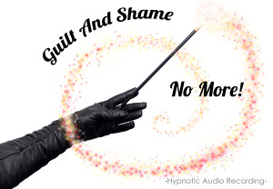 Glitter Goddess No Shame no guilt no more recorded audio hypnotic