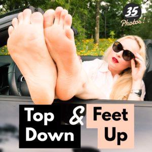 Top Down Feet Up – Photos