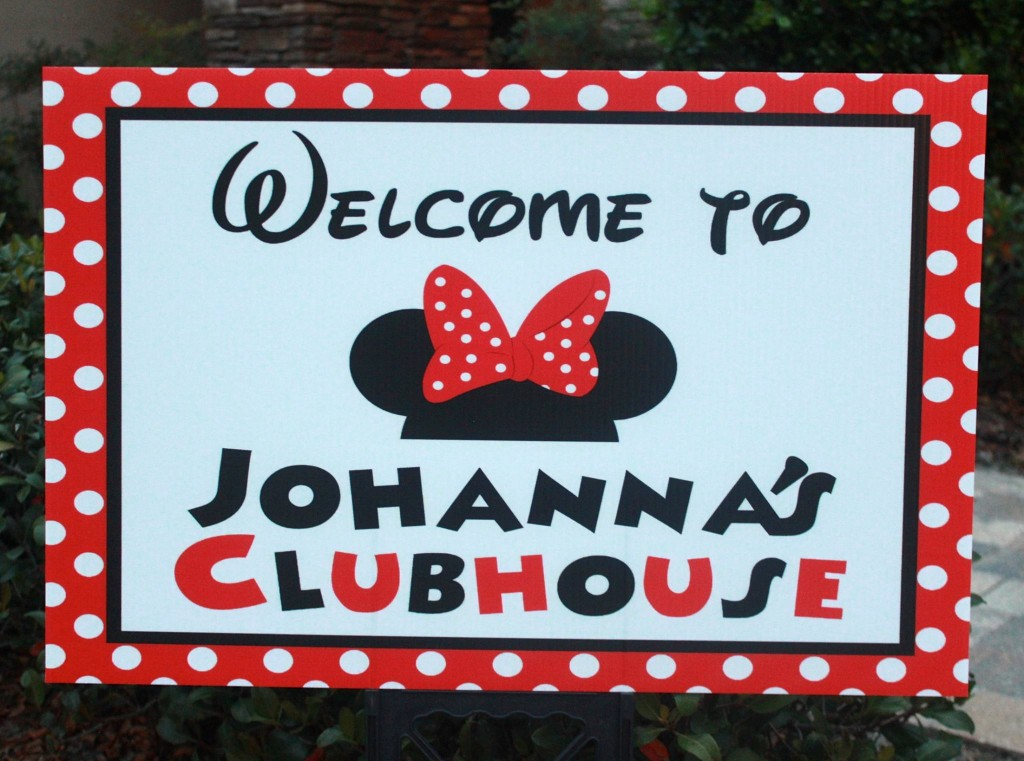 Welcome/Lawn Sign