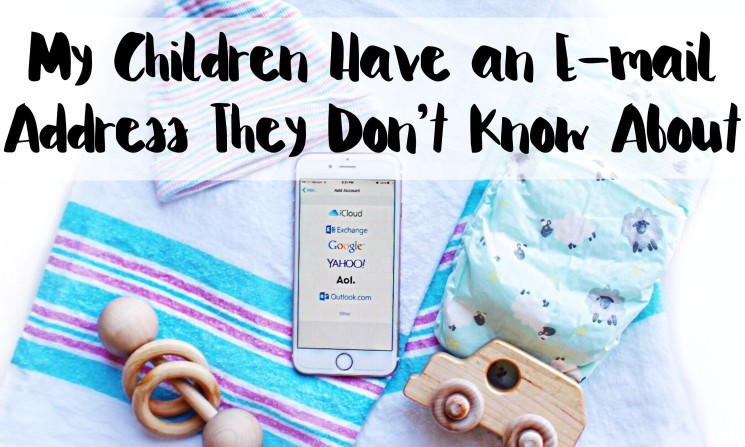 baby checklist, email address for children, baby email address, time capsule for kids
