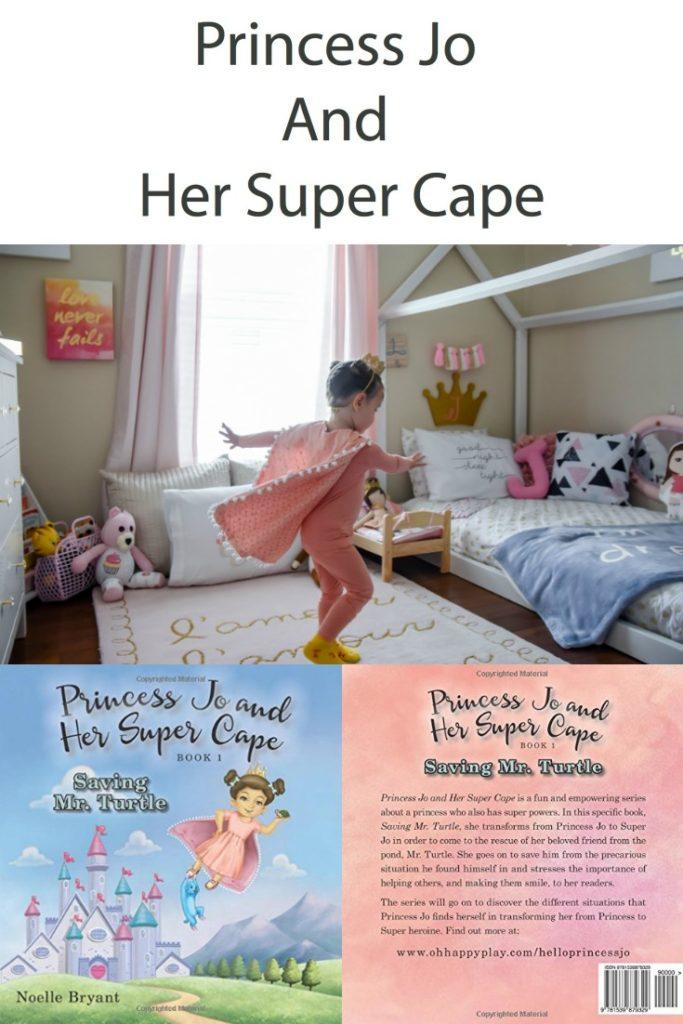 princess jo and her super cape, princess jo + her super cape, princess, super hero, girl super hero, girl power, be kind