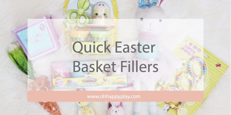 easter basket fillers, easy easter basket fillers, quick easter basket fillers, kids easter basket, easter, easter gifts, kids holiday