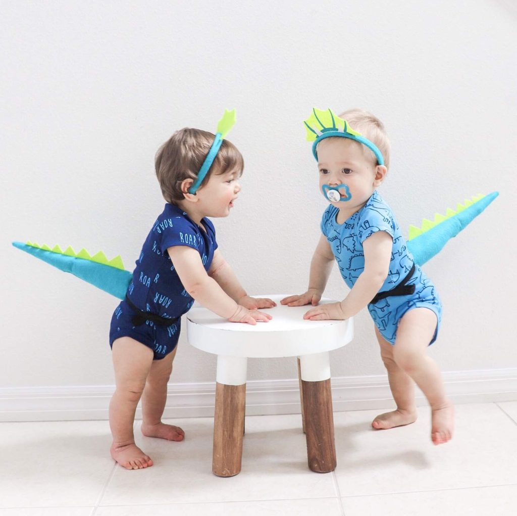 a Gerber baby halloween, gerber childrenswear, Dino party, dinosaur party, birthday party for boys