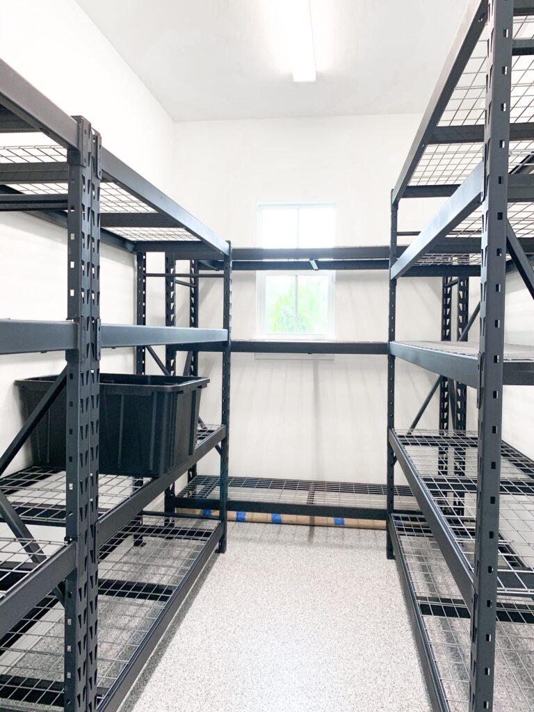 garage steel shelves, sturdy garage shelves, husky garage shelves