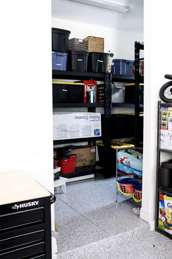 garage storage, tool chest, declutter garage