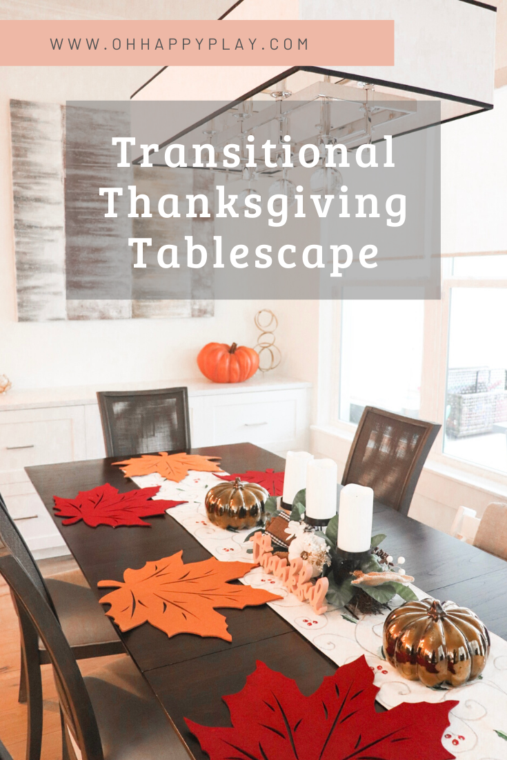transitional thanksgiving, Friendsgiving decor