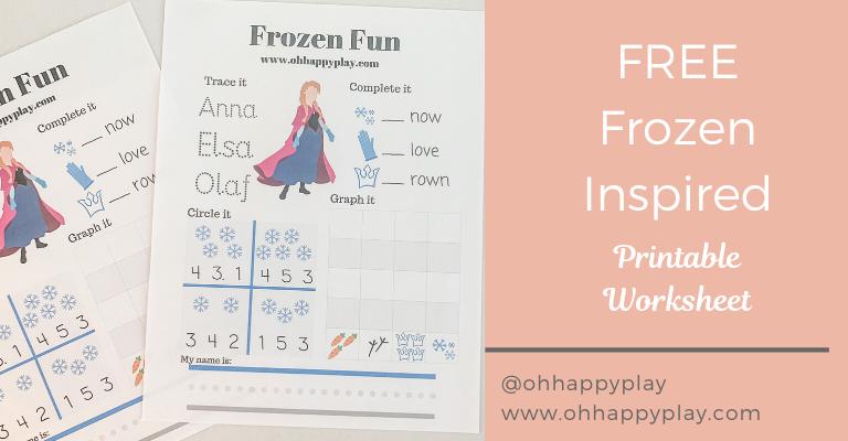 free frozen worksheet, printable, frozen printable, frozen worksheet, homeschool worksheet, kindergarten worksheet, frozen kindergarten worksheet