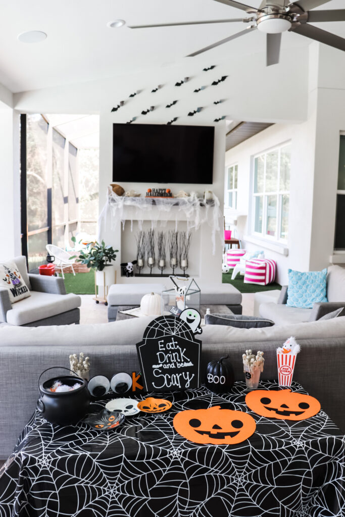 witch party vibes, kid's halloween party, halloween birthday party for kids