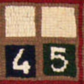 Sudoku. Brenda Ticehurst (détail)