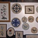 1990 / Exposition du 15e anniversaire, en mars 1990___   Lakeshore Hooking Craft Guild Show. 15th Anniversary, March 1990