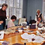 1995 / Atelier avec Lois J. Morris___ Pictorial Workshop with Lois Morris Lakeshore Hooking Craft Guild 20th Anniversary