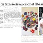2015 / Cités Nouvelles, le 23 septembre 2015. Page 24, Vie de Quartier. La Guilde de tapisserie au crochet fête ses 40 ans. Par Sara King-Abadi
