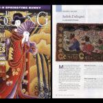 2012 / Notre professeure Judith Dallegret est dans les manchettes! Rug Hooking Magazine a publié un article sur ses tapis! ___Our Teacher Judith Dallegret is In The News. Rug Hooking Magazine  has showcased her work!