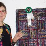 2018  / Claire Fradette  a gagné un prix à l'exposition annulelle de l'OHCG ___Claire Fradette won the Craft Ontario Affiliate Award at the OHCG 2018 Show!