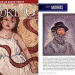 2014 / Notre professeure Lois J. Morris est dans les manchettes! Rug Hooking Magazine a publié un article sur ses tapis! ___Our Lois J. Morris is In The News. Rug Hooking Magazine  has showcased her work!