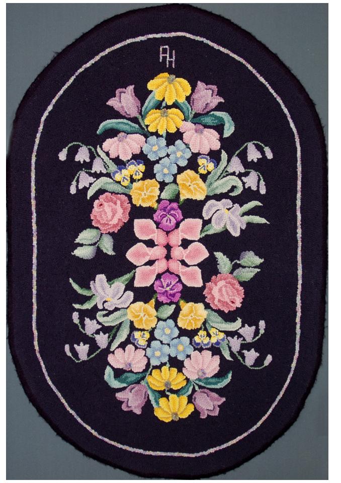 Alice Hamilton.  Mother's Garden. Original