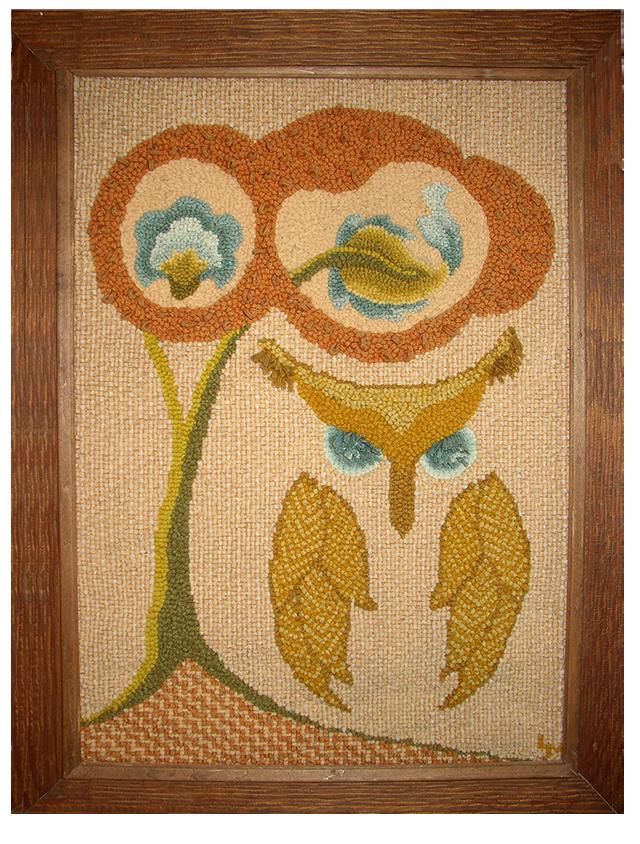 Lois J. Morris. Owl. Original