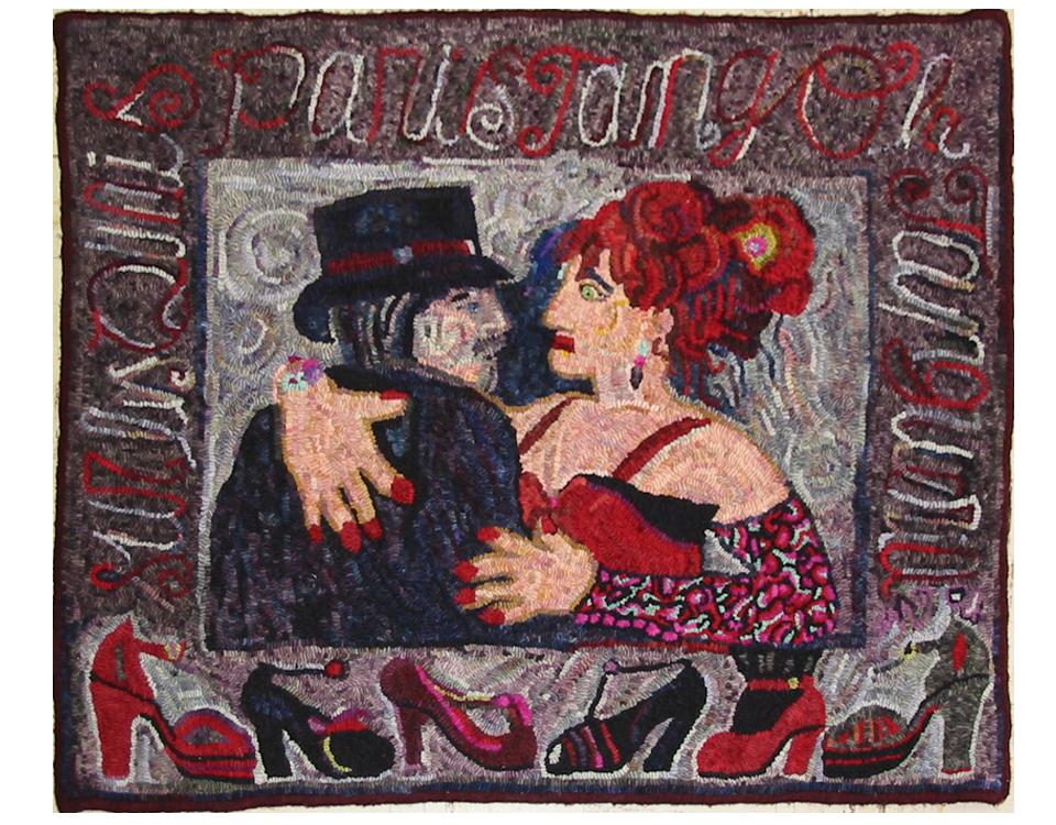 Judith Dallegret. Graffiti Tango. Original