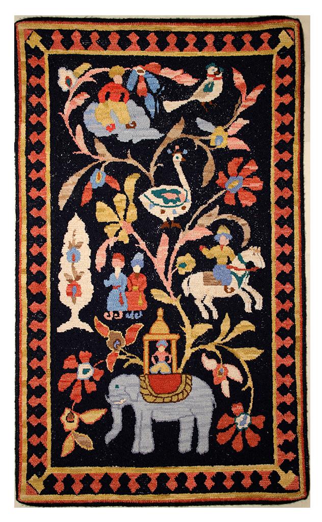 Sally Perodeau. Oriental Rug., a McGown-Flynn pattern
