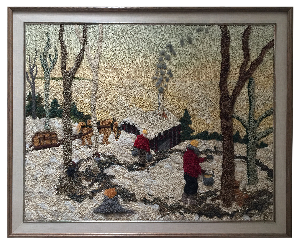 Sally Perodeau. Sugaring off, a Rittermere pattern