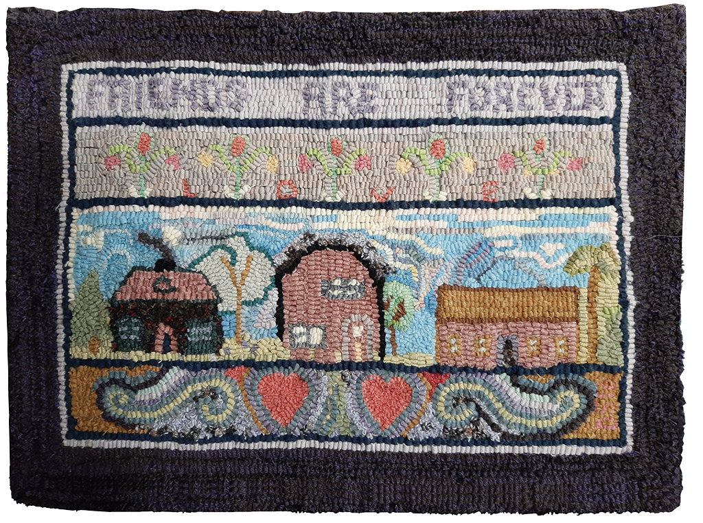 Debbie Séguin. Friends are Forever, a Rittermere pattern