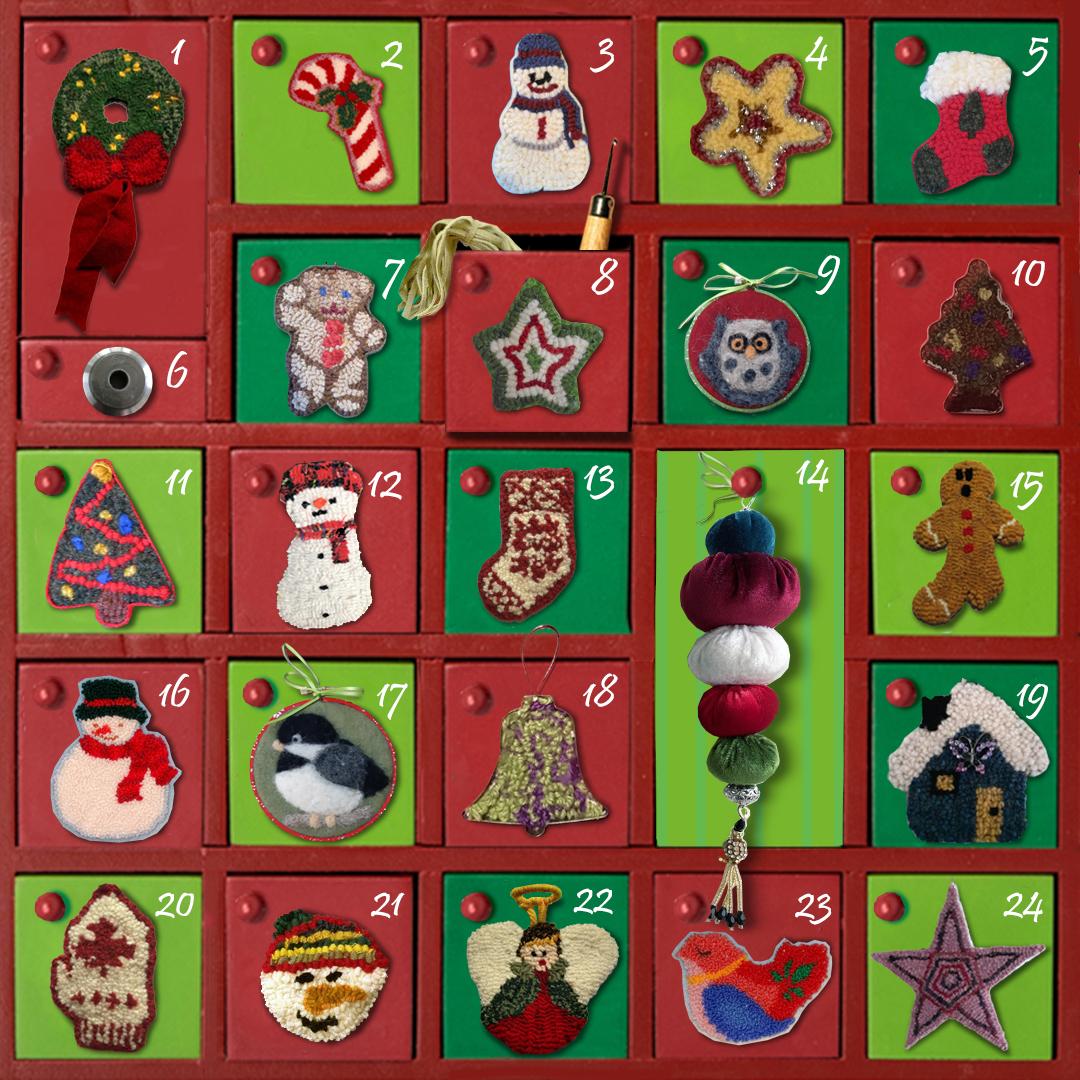 BHCG Advent Calendar. Illustration: Maria Romero.