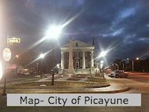 City of Picayune Map