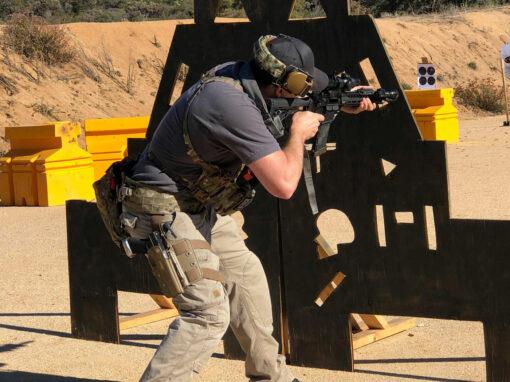 Jamie Franks Instructing Rifle Class in San Diego