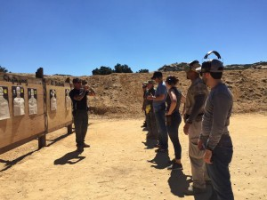 pistol combat course instruction