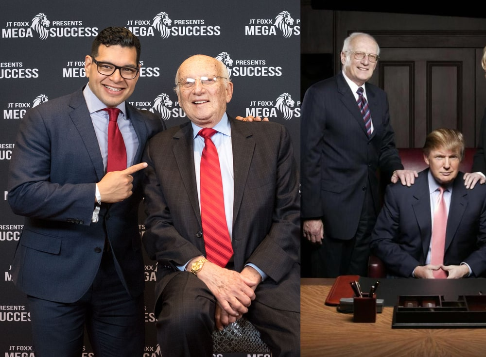 George Ross with Trump-min