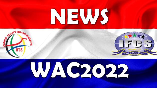 IFCS Announces 2022 World Agility Championship Dates & Venue