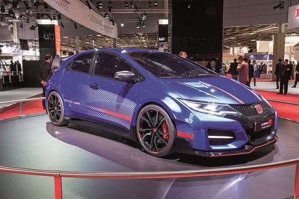 Future Honda Civic Type-R drives performance buzz into 2016