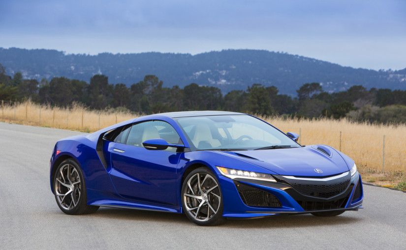 2017 Acura NSX Supercar VIN#001 to be auctioned for charity