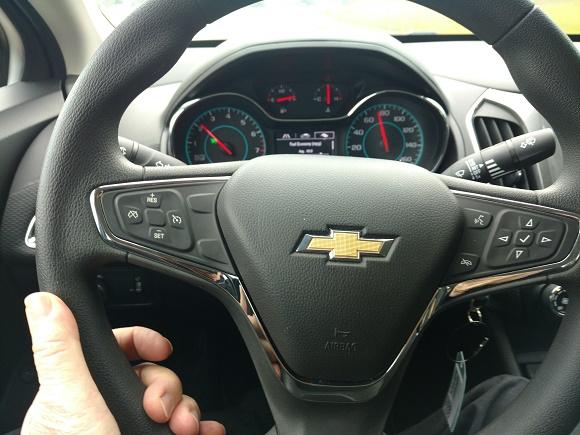 Chevy Cruze presents fun, economical driving basics