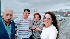 Us with Raquel's grandparents