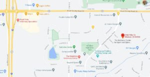 Map Location to The Wellness Center For Sport and Spine