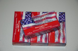 Hot Shot Elite 9 mm Luger 124 grain - $16.50 / box of 50