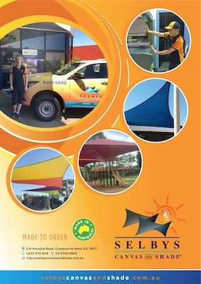 Selby Canvas and Shade Brochure